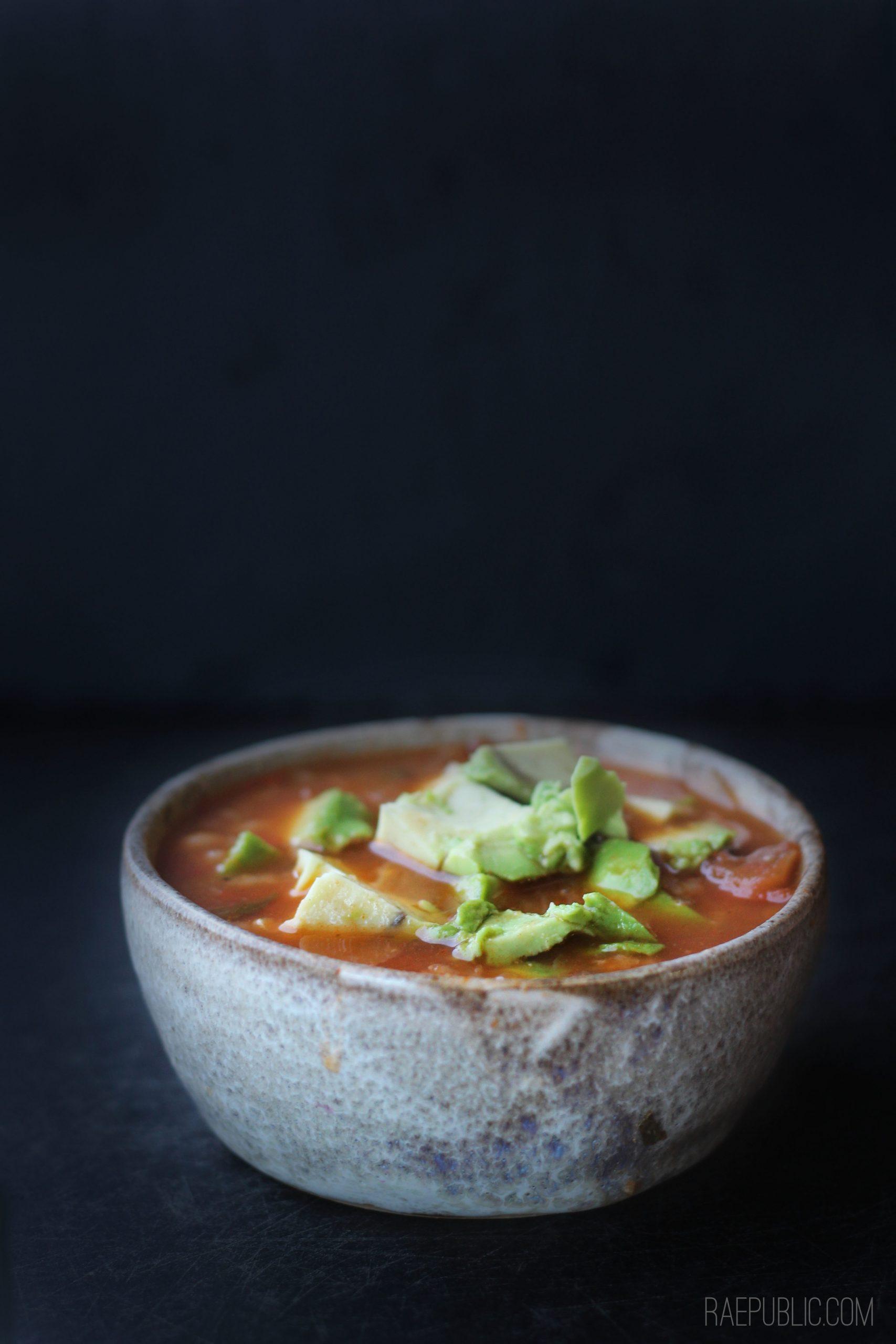 Classic Tortilla Soup