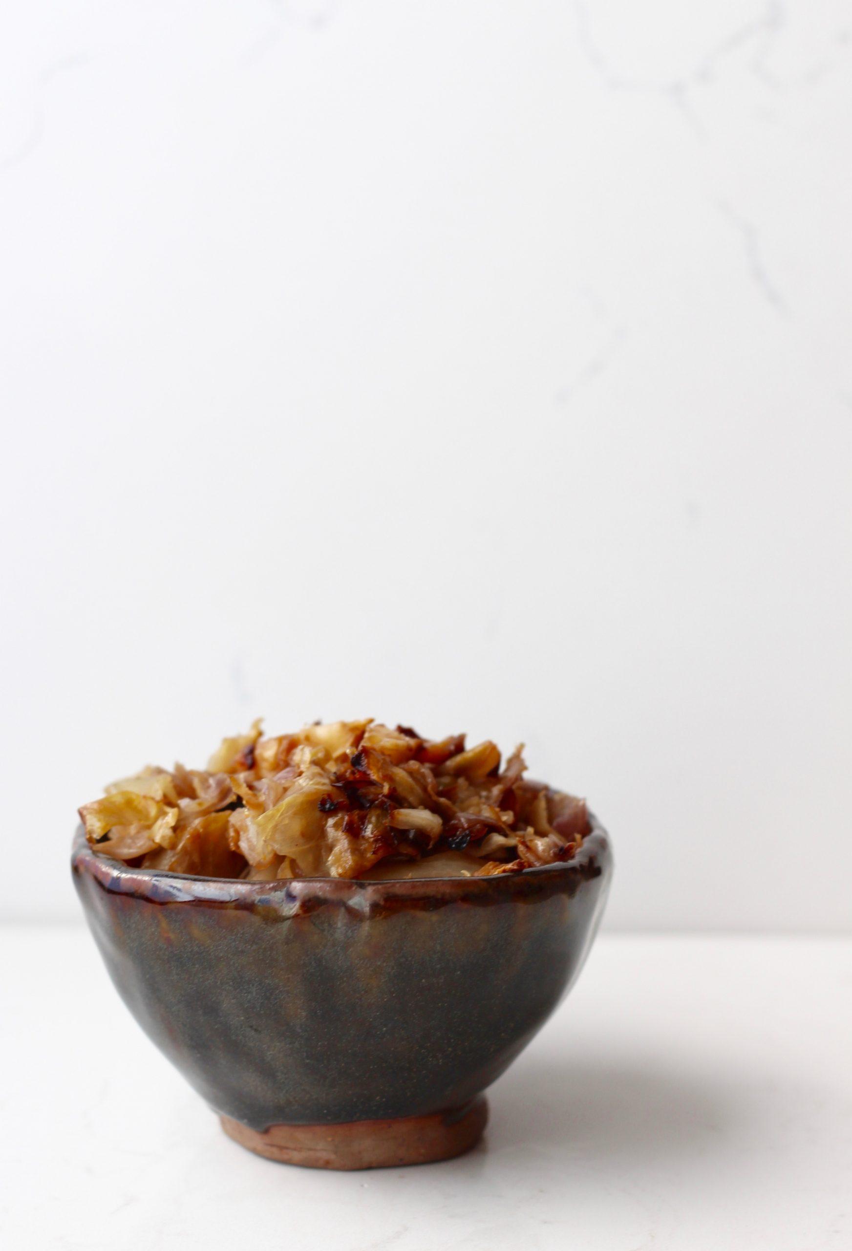 Garlic Roasted Cabbage