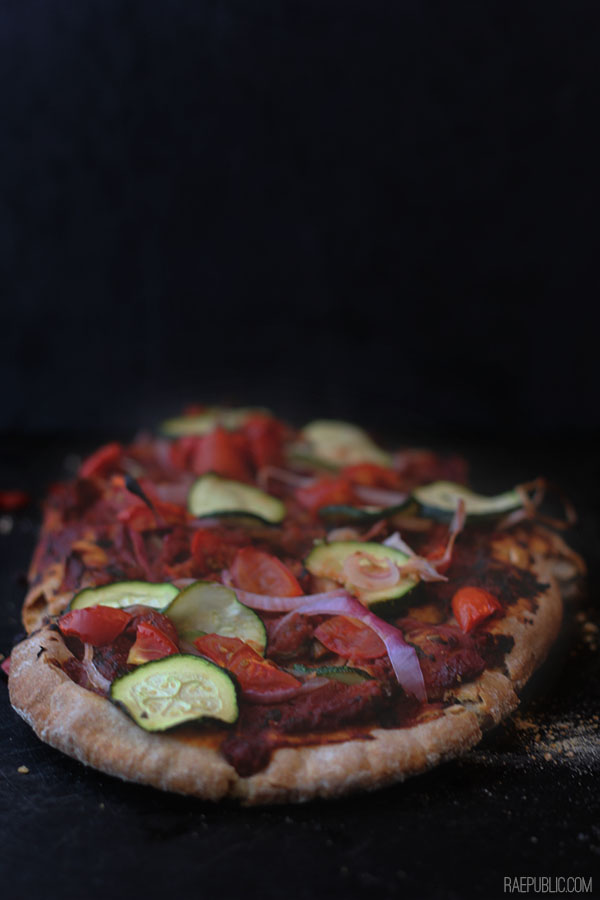 ROASTED RED PIZZA