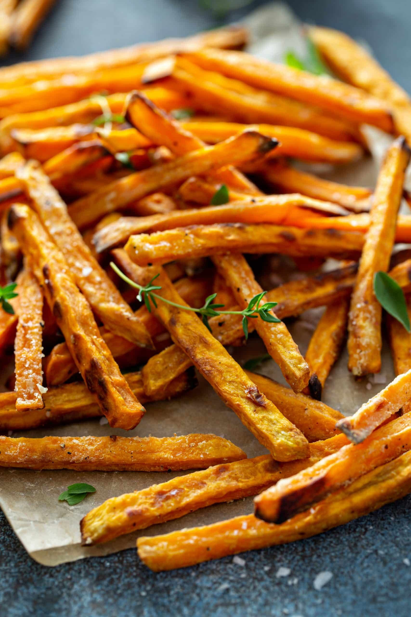 Oven-Baked Sweet Potato Fries (Oil-Free)