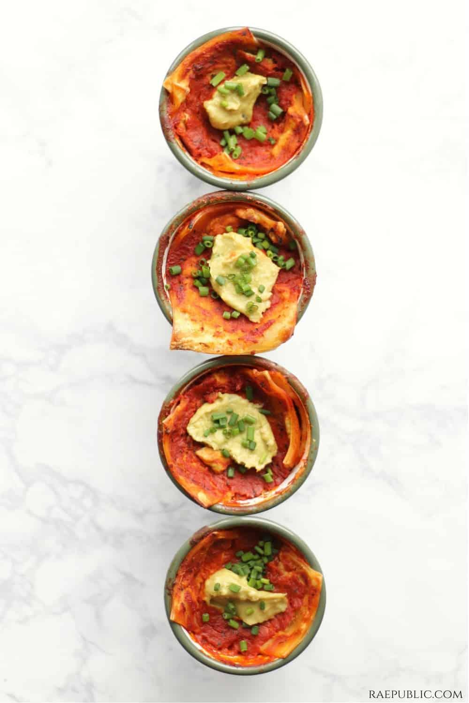 Easy Vegan Lasagna (Personal Sized)