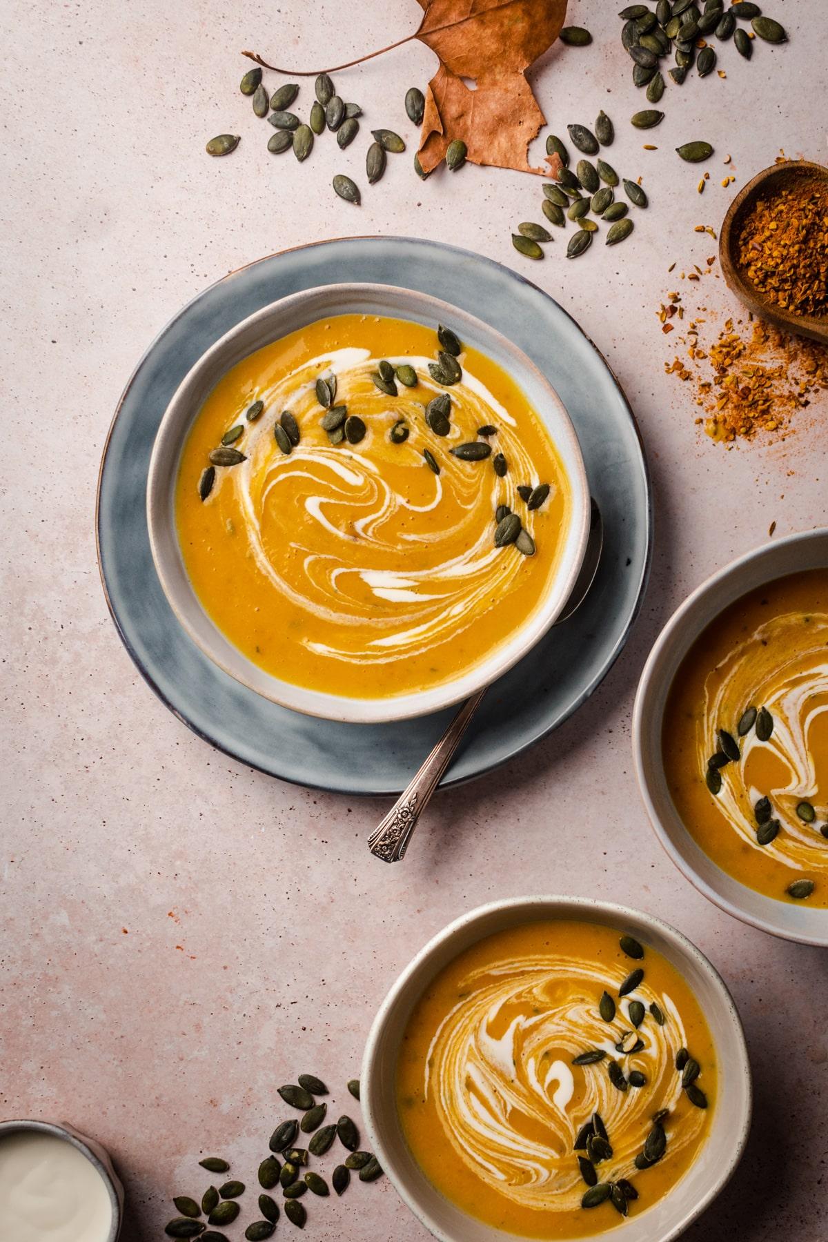 Butternut Squash Coconut Milk Soup