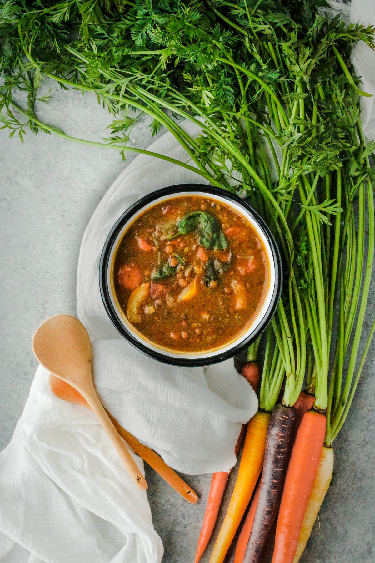 Hearty Vegan Lentil Soup