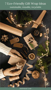 7 Eco-Friendly Gift Wrap Ideas